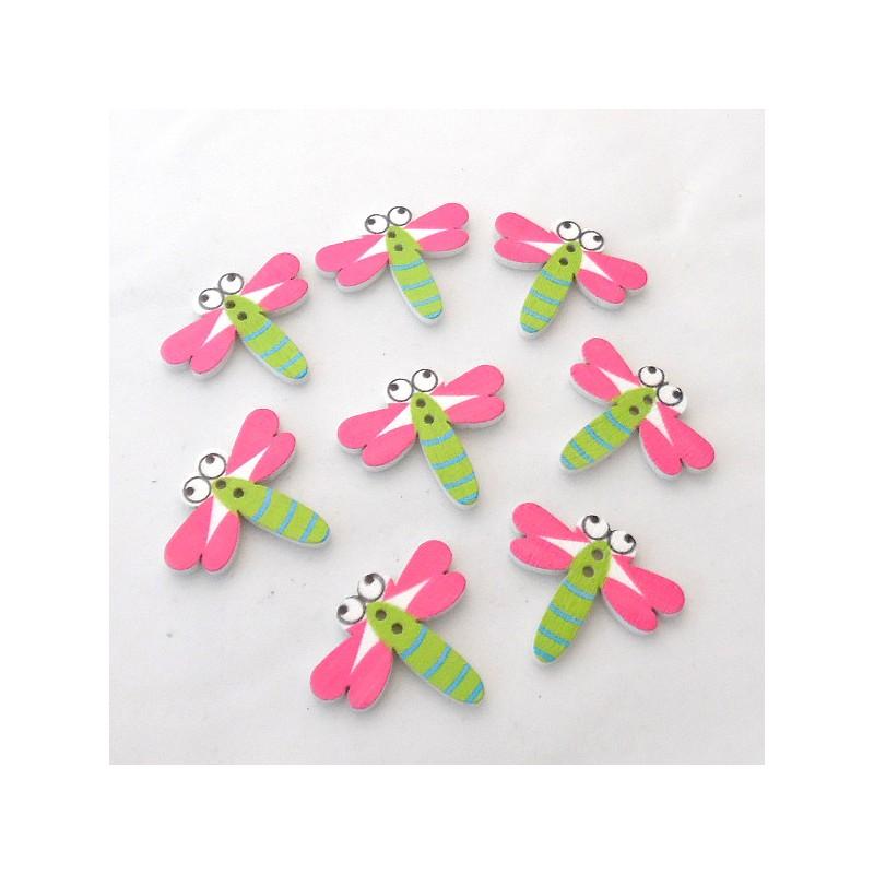 Pinkki organzanauha satiinireunoilla, 25 mm