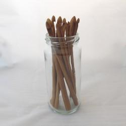 Bambu virkkuukoukut, 3-10 mm
